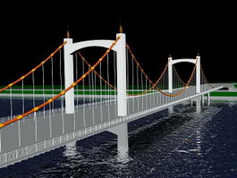 River Bridge 3d model