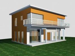 Villa 3d model free download - cadnav com