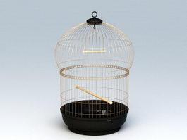 Victorian Bird Cage 3d model
