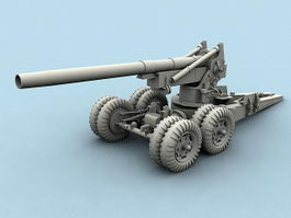 Field Howitzer 3d model