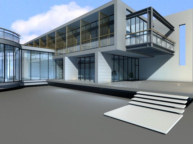 New Modern Villa 3d model