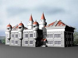 Victorian Mansion 3d model