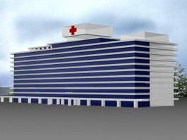 City Hospital 3d model