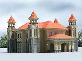 Mansion House 3d model