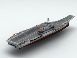 Admiral Kuznetsov Aircraft Carrier 3d preview