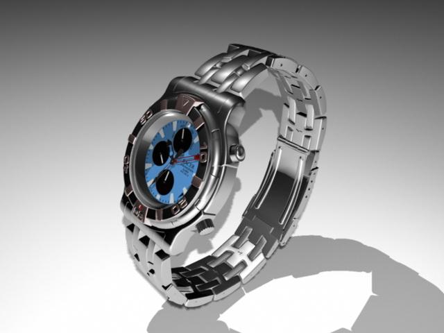 Fashion Sport Watch 3d model