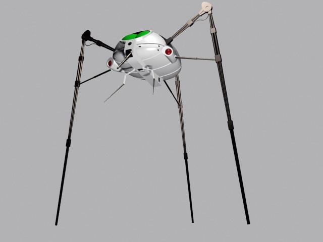 Alien Tripod Walker 3d model