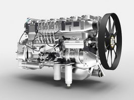 Engines 3d model free download - cadnav com