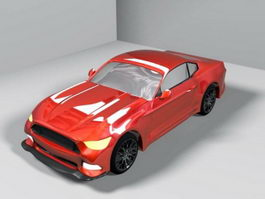 2015 Ford Mustang 3d model