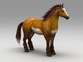 Mexican Horse 3d model