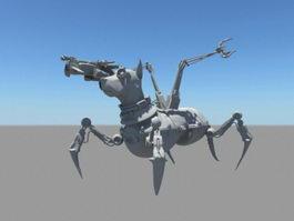 Military Robot Dog 3d model