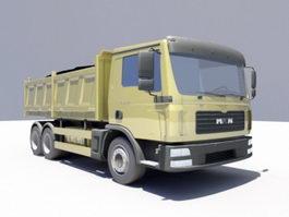 MAN Dump Truck 3d model