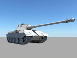 WW2 Heavy Tank 3d model