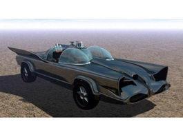 1960s Batmobile 3d model