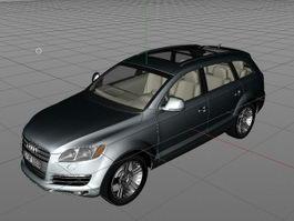 Audi SUV Q7 3d model