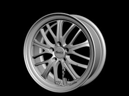 Advanti Racing Rim 3d model