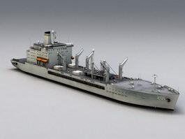 USNS Patuxent Replenishment Oiler 3d model