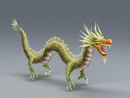 Ancient Chinese Dragon 3d model