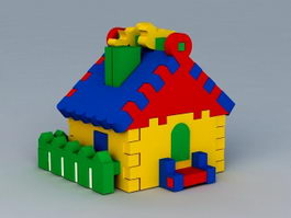 Toy House 3d model
