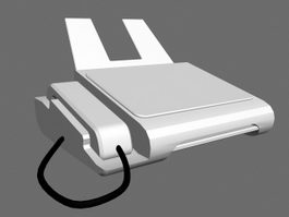Office Fax Machine 3d model