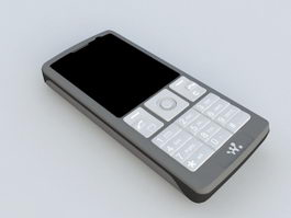 Sony Ericsson K610i 3d model