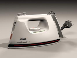 SOLAC Electric Iron 3d model