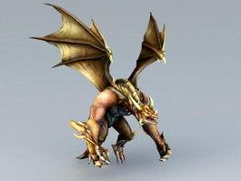 Dragon Protector 3d model