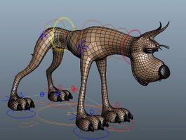 Great Dane Rig 3d model