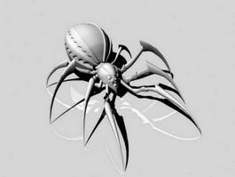 Big Scary Spider 3d model