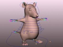 Fat Mice Rig 3d model