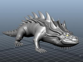 Crocodile Monster 3d model