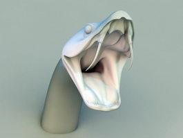 Boa Snake Head 3d model