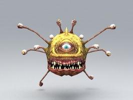 Beholder Monster 3d model