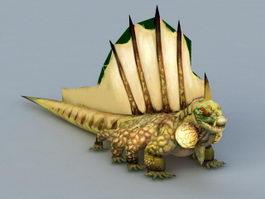 Basilisk Monster 3d model