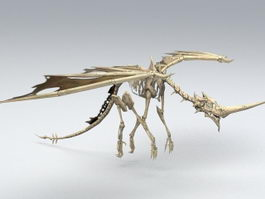 Bone Dragon 3d model