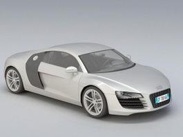 Audi R8 Spyder 3d model
