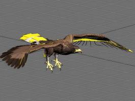 Flying Eagle Animation 3d model