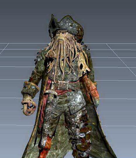 Davy Jones 3d model Object files free download - modeling 45279 on