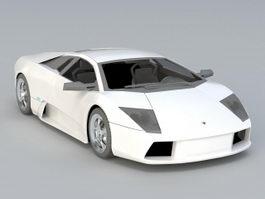 Lamborghini Aventador S 3d model