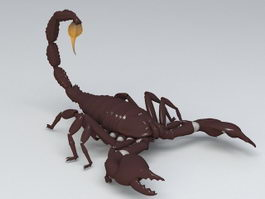 Scorpion Animal 3d preview