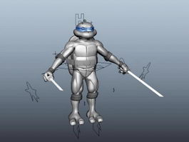 Teenage Mutant Ninja Turtle 3d model