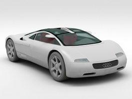 Audi Avus quattro 3d model