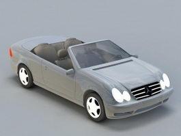 Mercedes Convertible 3d model