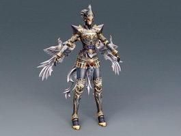 Divine Wizard 3d model