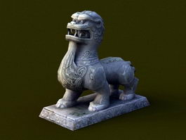 Ancient Stone Beast 3d model