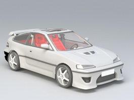 GT Sports Car 3d model