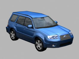 Subaru Forester 3d preview