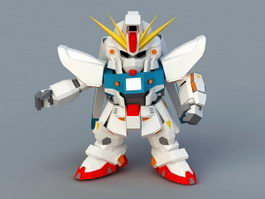 Mobile Suit Gundam F91 3d model
