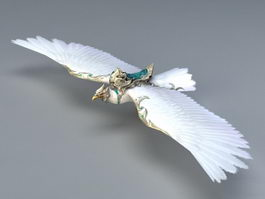 White Eagle Mount 3d model