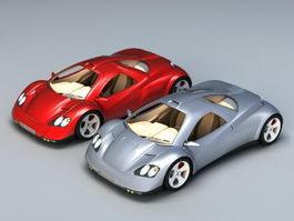 Future Concept Cars 3d model